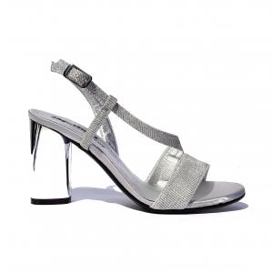Sandalo elegante argento Melluso