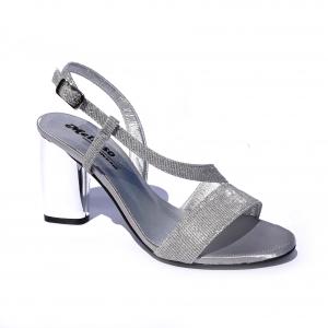 Melluso Sandalo Sandalo Elegante Elegante Argento NnOm8w0v
