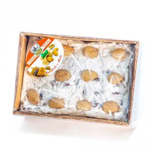 Torrone mandorle e miele a vista – 500 g