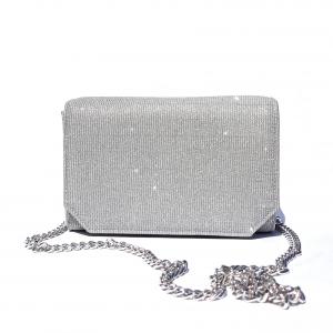 Borsa elegante argento Melluso