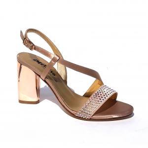 Sandalo elegante rame Melluso