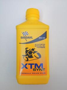OLIO MOTORE BARDAHL XTM SYNT per MOTO e SCOOTER 4 TEMPI  - SEMISINTETICO  SAE 20W50 - MOTOFORNITURE GF