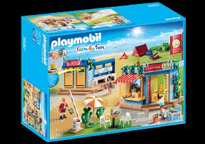 PLAYMOBIL GRANDE CAMPEGGIO 70087