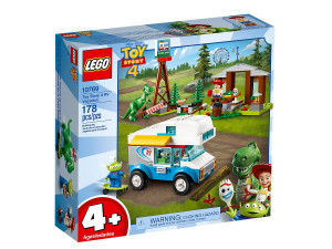 LEGO JUNIORS VACANZA IN CAMPER - TOY STORY 4 cod. 10769