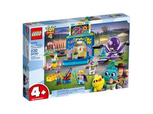 LEGO JUNIORS BUZZ E WOODY E LA MANIA DEL CARNEVALE 10770