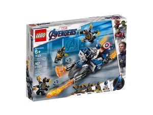 LEGO SUPER HEROES CAPTAIN AMERICA: ATTACCO DEGLI OUTRIDER 76123