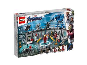LEGO SUPER HEROES SALA DELLE ARMATURE DI IRON MAN 76125