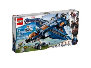 LEGO SUPER HEROES L'ULTIMATE QUINJET DEGLI AVENGERS 76126