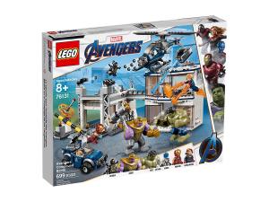 LEGO SUPER HEROES AVENGERS: BATTAGLIA NEL QUARTIER GENERALE 76131