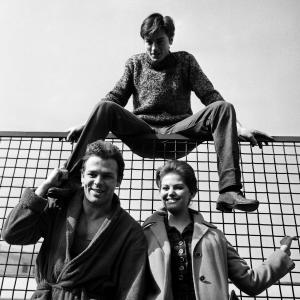 Il set di Rocco e i suoi fratelli, 1960