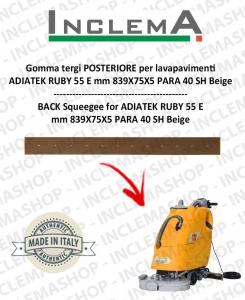 Hinten Sauglippen für Scheuersaugmaschinen ADIATEK RUBY 55 E