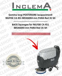 Hinten Sauglippen für Scheuersaugmaschinen Nilfisk CA 451