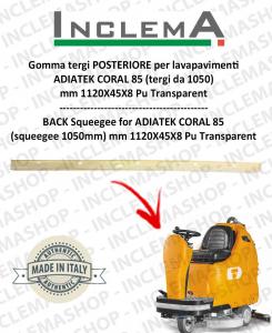 goma de secado delantera (tergi da 1050) para fregadora ADIATEK CORAL 85