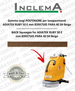 Hinten Sauglippen für Scheuersaugmaschinen ADIATEK RUBY 50 E