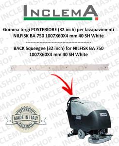 Gomma tergi POSTERIORE per Nilfisk BA 750