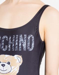 Costume intero con Brushstroke Teddy Bear
