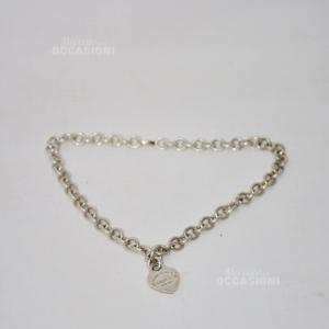 Collana - Bracciale Tiffany Originale 925 ( Con Lettera E )