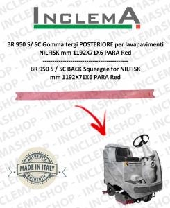 BR 950 S / SC Gomma tergi POSTERIORE per lavapavimenti NILFISK