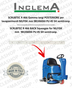 SCRUBTEC R 466 Hinten Sauglippen für Scheuersaugmaschinen NILFISK