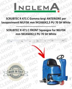 SCRUBTEC R 471 C Gomma tergi ANTERIORE per lavapavimenti NILFISK