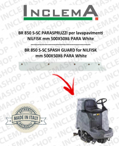 BR 850S-SC PARASPRUZZI for Scrubber Dryer NILFISK