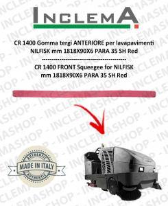 CR 1400 Gomma tergi ANTERIORE per lavapavimenti NILFISK