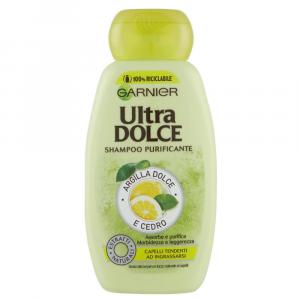 GARNIER ULTRA DOLCE Shampoo Argilla dolce e Cedro 400 ml