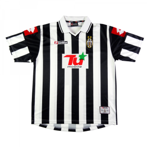 2001-02 Juventus Maglia Home Champions XL (Top)