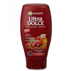 GARNIER ULTRA DOLCE Balsamo olio d'Argan & Mirtillo Rosso 360 ml