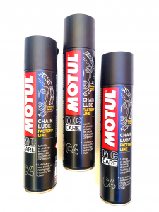 LUBRIFICANTE SPRAY per CATENE MOTO - MOTOFORNITURE GF