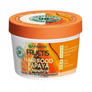 FRUCTIS Maschera Hair Food Papaya Riparatrice 390 ml
