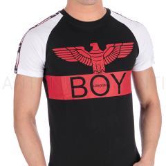 Maglia Jersey Boy London Nero G/C M/M +Stampa BLU6073