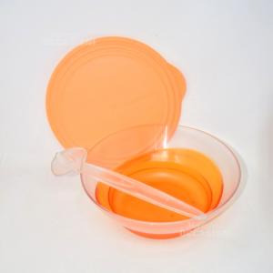 Insalatiera Tupperware Arancio Con