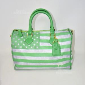Bauletto Y Not ? Verde Bandiera America