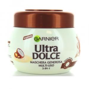 GARNIER ULTRA DOLCE Maschera generosa Crema di Cocco 300 ml