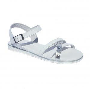 Sandalo bianco basso Raquel Perez