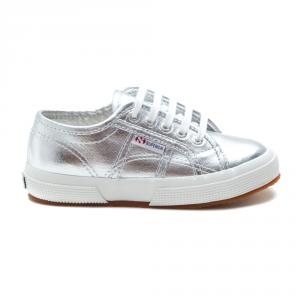 Scarpa Superga Bimba Grey/Silver 2750 COTMETJ