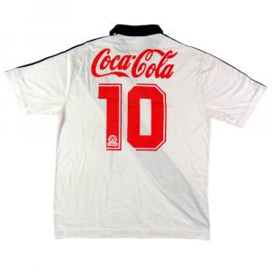 1989-90 Vasco Da Gama Maglia Away #10 Bebeto L (Top)