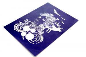 Stencil Mascherina designer per magliette MY STYLE mis. 30 x 21 cm