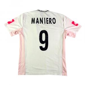 2002-03 Palermo Maglia Away #9 Maniero XL