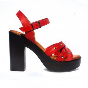 Sandalo rosso Raquel Perez