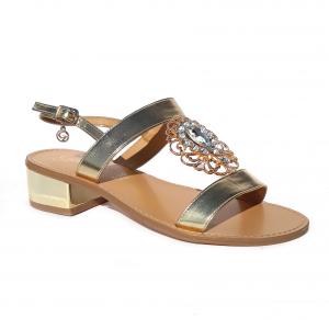 Sandalo argento o platino Gardini