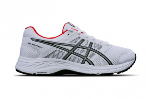 Scarpa Asics Gel-Contend 5 White/Black+Red 1011A256-100