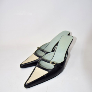 Sandali Gucci Nere Bianche N.38