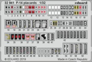 F-14 placards (TAM)