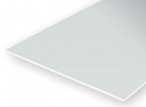 PLAIN OPAQUE WHITE POLYSTYRENE SHEET