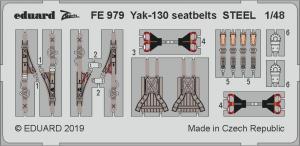 Yak-130 seatbelts STEEL