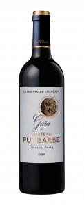 Gaya de Chateau Puybarbe AOC Cotes De Bourg 2016