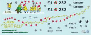 AB-205 ESERCITO 'Babbocottero 2015 - MINIONS'