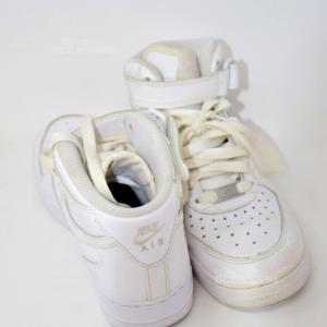 Scarpe Nike Air Bianche N 37.5